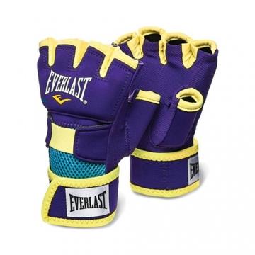 Everlast Evergel Glove Wrap (Purple/Yellow)