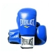 Everlast Leather Boxing Glove Fighter (Black/Blue)
