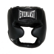 Everlast Leather Full Protect Headgear (Black)