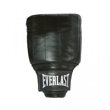 Everlast Leather Pro Bag Gloves Boston (Black)