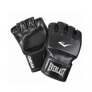 Everlast Martial Arts PU Open Thumb Grappling Gloves