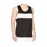 Everlast Mens Competition Contrast Panel Vest (Black/White)