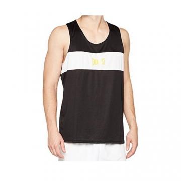 Everlast Mens Competition Contrast Panel Vest (Black/White)
