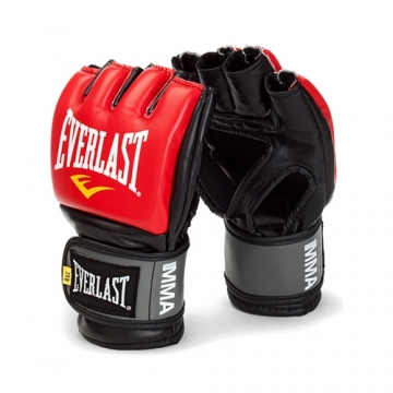 Everlast MMA Pro Style Grappling Gloves (Red)