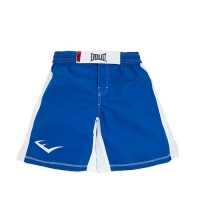 Everlast MMA8 Mens Mixed Martial Arts Shorts (Blue/White)