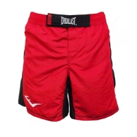 Everlast MMA8 Mens Mixed Martial Arts Shorts (Red/Black)