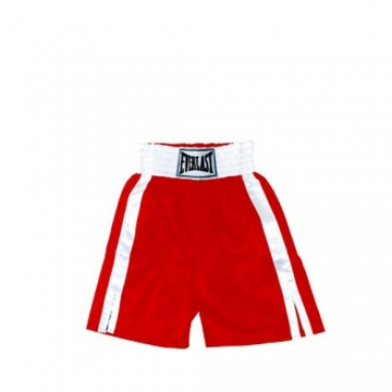 Everlast Pro Boxing Trunks (61cm) (Red/White)