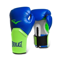 Everlast Pro Style Elite Glove (Blue/Green)