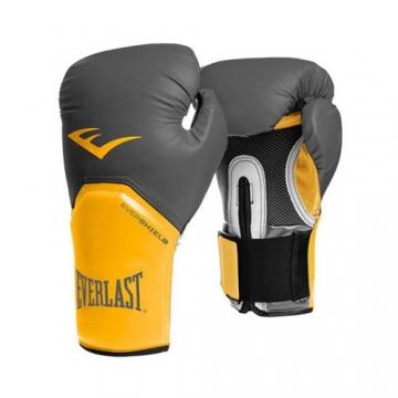 Everlast Pro Style Elite Glove (Grey/Orange)