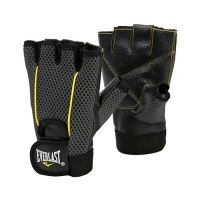 Everlast Weight Lifting Glove (Black/Yellow)