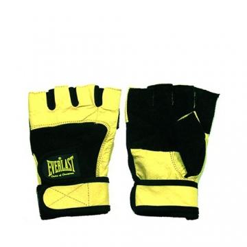 Everlast Weight Lifting Glove Original (Black/Yellow)