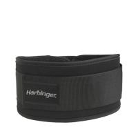 Harbinger 5 Inch Foam Men core Nylon Belt Black