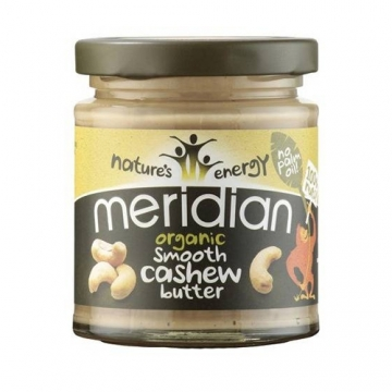Meridian Foods Organic Cashew Butter (6x170g)