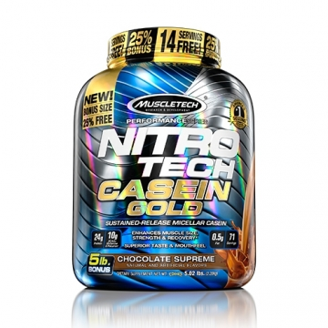 Muscletech Performance Series Nitro Tech Casein Gold (5lbs)