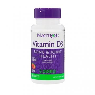 Natrol Vitamin D3 Fast Dissolve 2000IU (90)