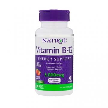 Natrol Vitamin B12 5000mcg Fast Dissolve (100)