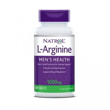 Natrol L-Arginine 1000mg (50)