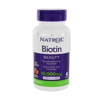 Natrol Biotin 10000mcg Fast Dissolve (60)