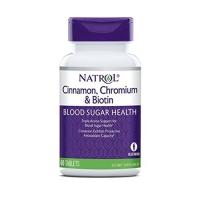 Natrol Cinnamon, Biotin & Chromium (60)