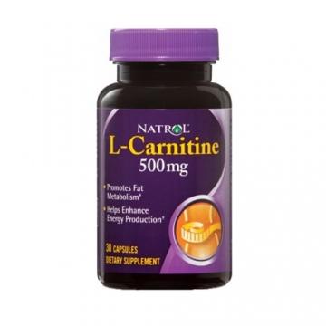 Natrol L-Carnitine 500mg (30)