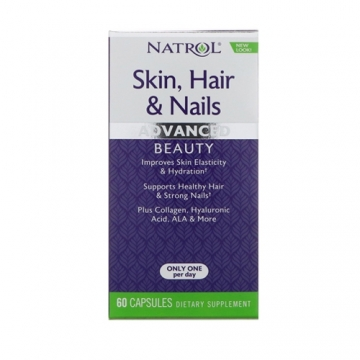 Natrol Skin, Hair Nails with Lutein (60)
