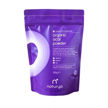 Naturya Superfoods Organic Acai powder (125g)