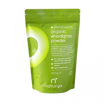 Naturya Superfoods Organic Wheatgrass Powder (100g)