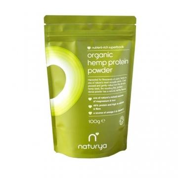 Naturya Superfoods Organic Hemp Protein Powder (100g)