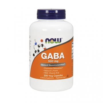 Now Foods Gaba 500mg (200)