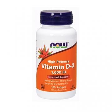 Now Foods Vitamin D3 1000iu (180)
