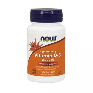 Now Foods Vitamin D3 2000IU (120)
