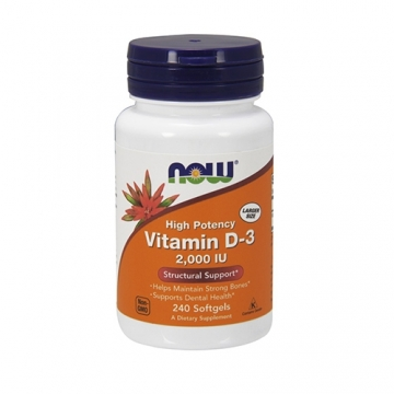 Now Foods Vitamin D3 2000IU (240)