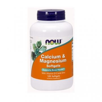 Now Foods Calcium & Magnesium with Vitamin D3 & Zinc (120)
