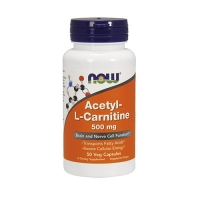 Now Foods Acetyl L-Carnitine 500mg (50)