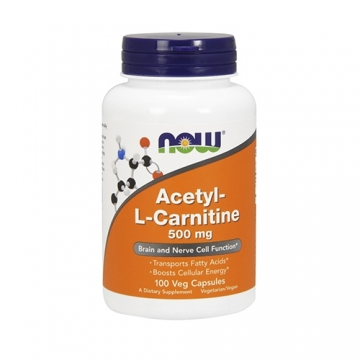 Now Foods Acetyl L-Carnitine 500mg (100)