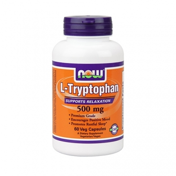 Now Foods L-Tryptophan 500mg (60)