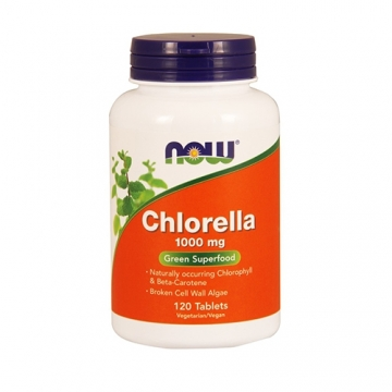 Now Foods Chlorella 1000mg (120)