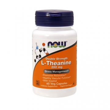 Now Foods L-Theanine 200mg (60)