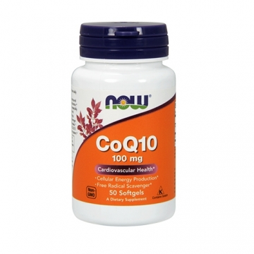 Now Foods CoQ10 100mg (50)