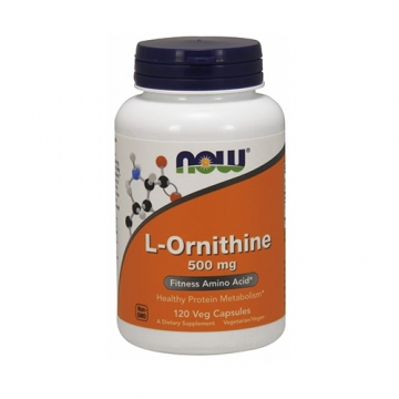 Now Foods L-Ornithine 500mg (120)