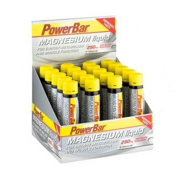 Powerbar Magnesium Liquid Ampoules (20x25ml)