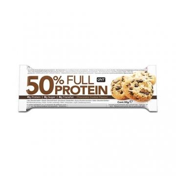 Qnt 50% Full Protein Bar (12x50g)