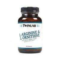 Twinlab L-Arginine & L-Ornithine (100)