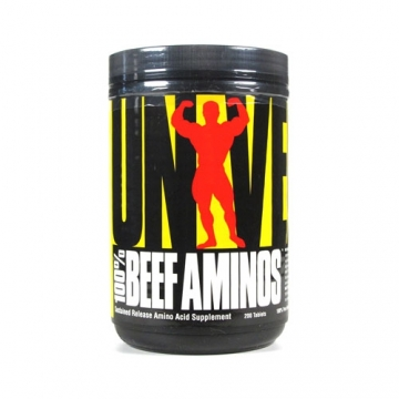 Universal Nutrition Beef Amino (200 Tabs)