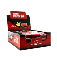 Activlab High Whey Protein Bar (24x80g) (25% OFF - short exp. date)