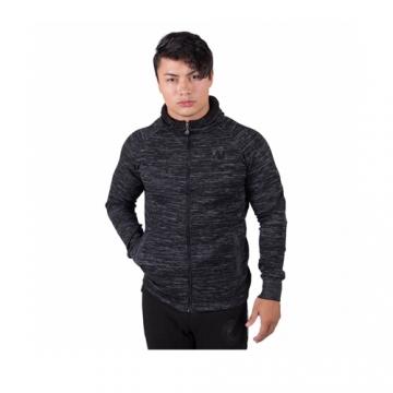 Gorilla Wear Keno zipped hoodie Black Gray