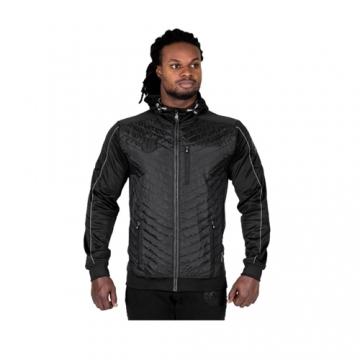 Gorilla Wear Jefferson Front padded Jacket Black Gray