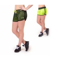 Gorilla Wear Madison Reversible Shorts (Black/Neon Lime)