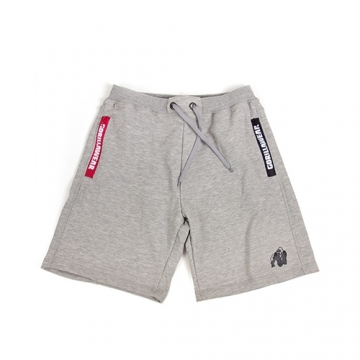Gorilla Wear Pittsburgh Sweat Shorts (Gray)