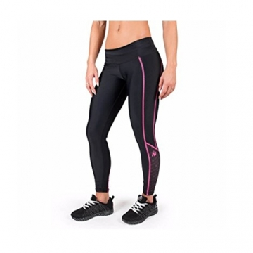 Gorilla Wear Womens Carlin Compression Tight Black Pink